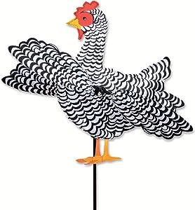 Premier Designs Black & White Chicken Whirligi