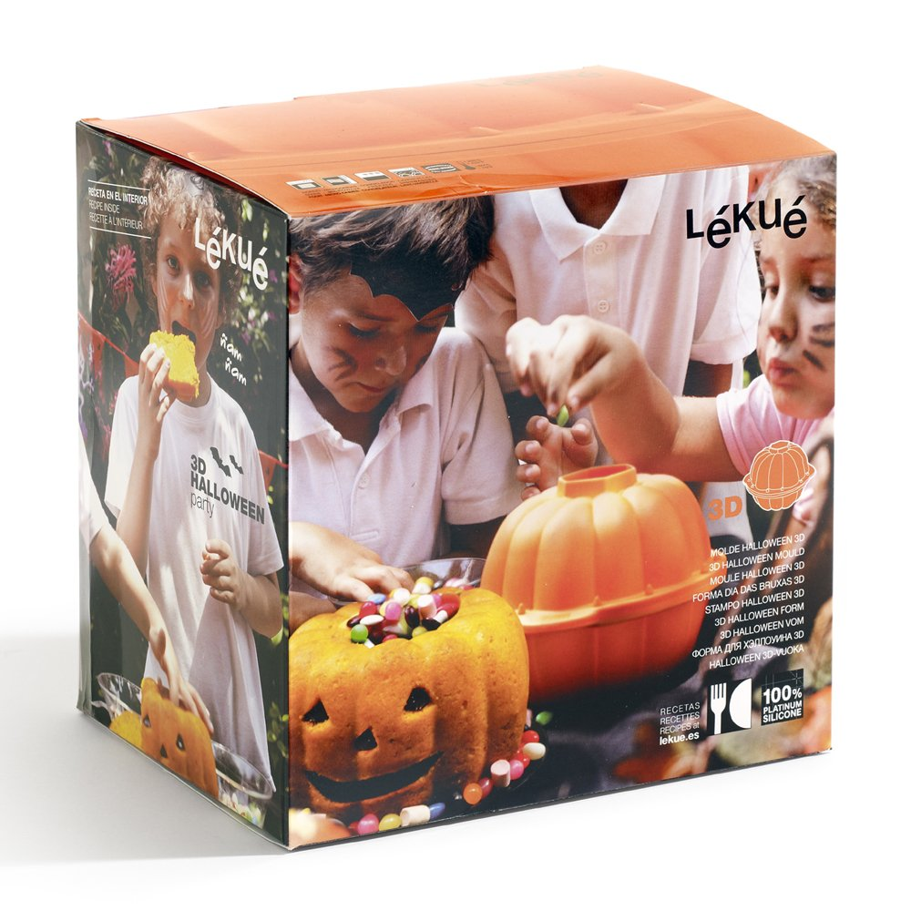 Lekue Pumpkin 3D Mold, Orange by Lekue (Image #6)
