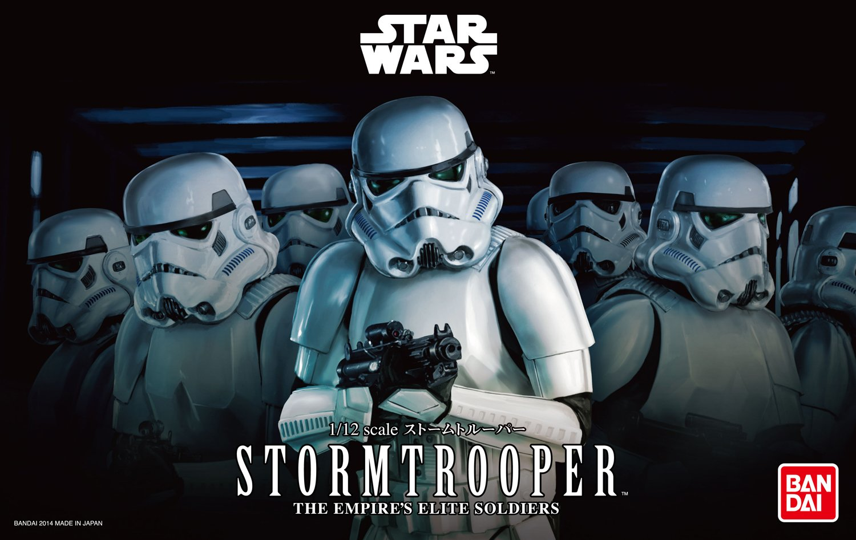 Bandai Hobby Star Wars 1/12 Plastic Model Stormtrooper