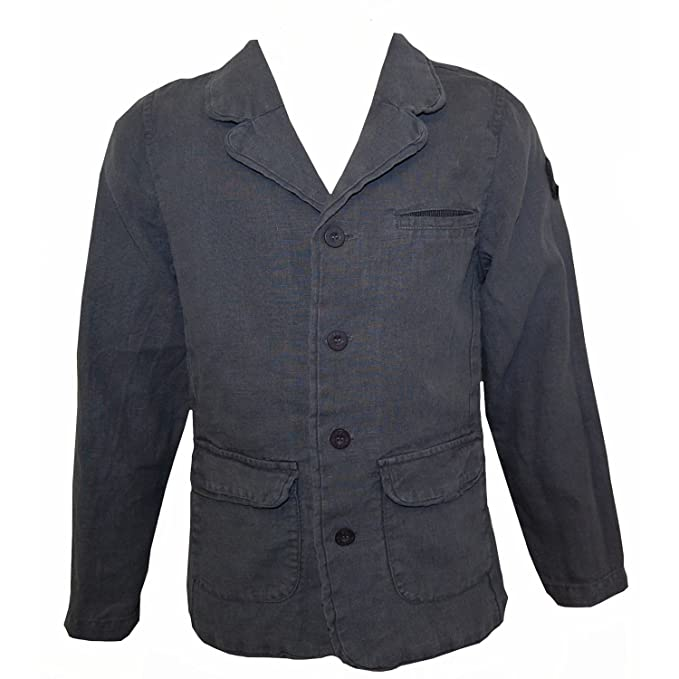 Vintage Style Children's Clothing: Girls, Boys, Baby, Toddler Eliane et Lena - Festive blazer boys blue-gray £62.96 AT vintagedancer.com