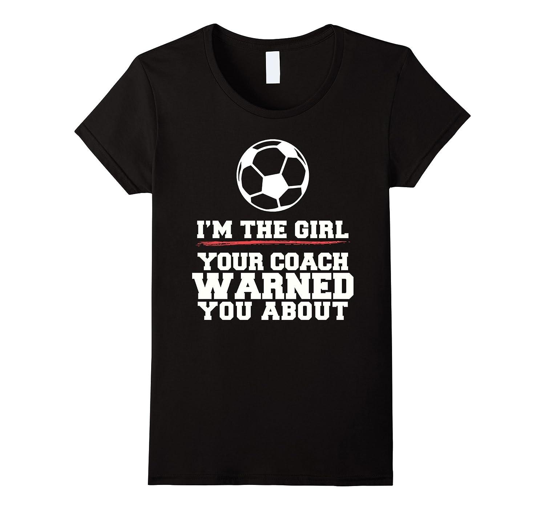Womens Warned Soccer T Shirt Purple-Awarplus
