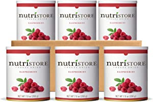 Nutristore Premium Freeze Dried Fruits and Veggies | Healthy Snacks | Great Tasting | Perfect for Camping, Emergency, Survival or Everyday Food Supply | Case Packs | Made in USA