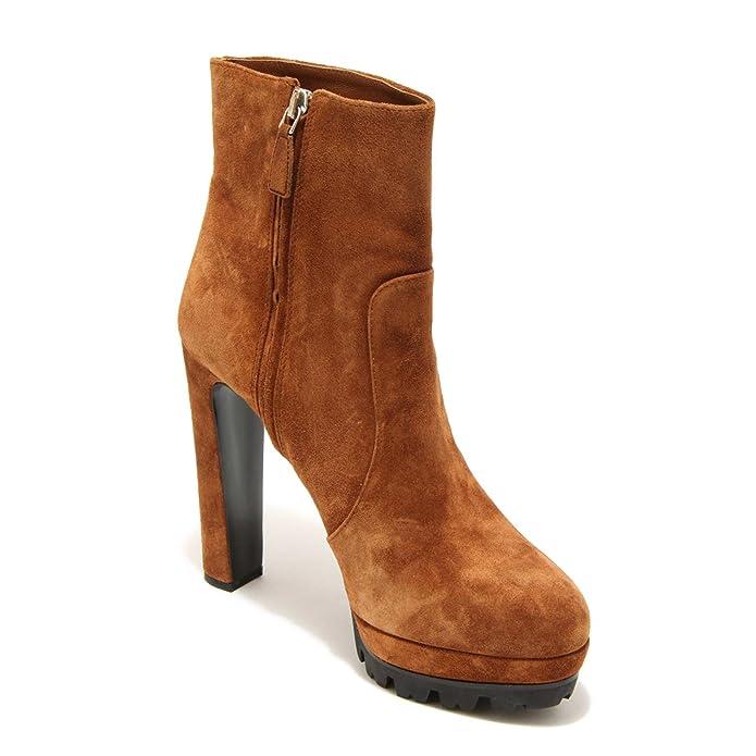 2529G stivaletto tronchetto PRADA SCAMOSCIATO OLD scarpa stivale donna boots sho [36.5] Gran venta barata Venta Ebay 3TEQU6wiP