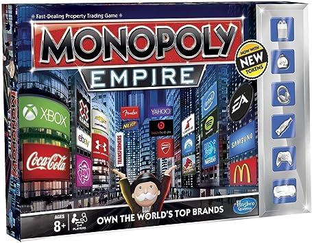 Monopoly Empire - Juego de mesa, de 2 a 4 jugadores, Inglés (importado): Amazon.es: Juguetes y juegos