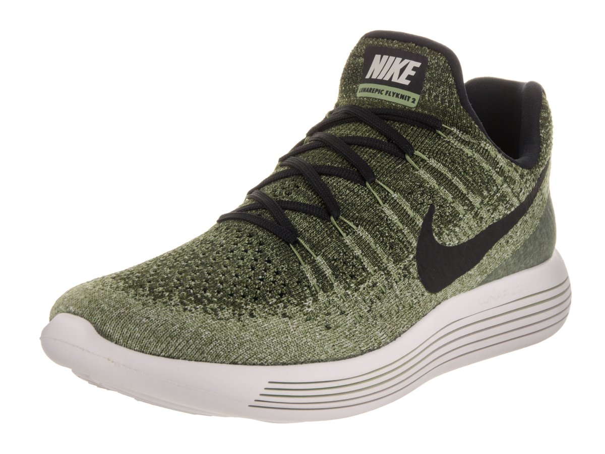 533e88f203fa Galleon - NIKE Men s Lunarepic Low Flyknit 2 Green Running Shoe 11