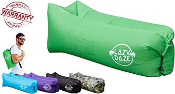 Amazon.com: Lazy Daze tumbona inflable con bolsa de ...
