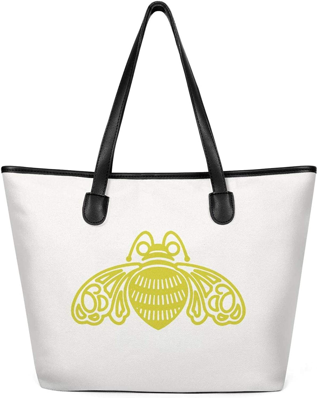 Women Patron-Tequila-Logo Canvas Shoulder Bags Large Capacity Bag Foldable Large Summer Shoulder Creamy-White