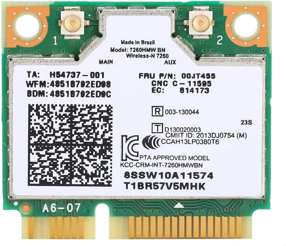 vbestlife para Intel 7260BN 802.11b/g/n 04W3815tarjeta Mini PCI-e WiFi módulo para Lenovo Y510p Y410P Y430P