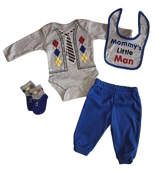 3ff759446fcf Amazon.com  Baby Boys 4 Piece Set -