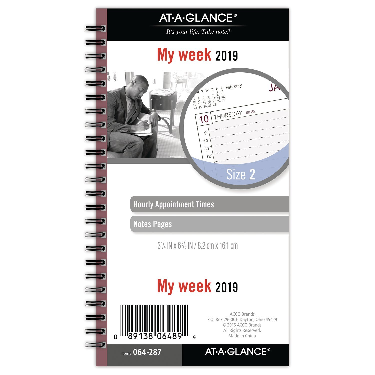 89189be765b Amazon.com   AT-A-GLANCE 2019 Weekly Planner Refill