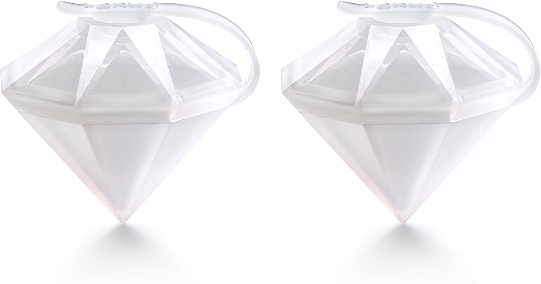 Lekue 2 Ice Block Diamond Molds