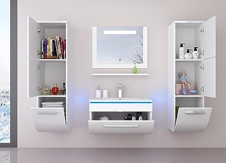 Mobili Da Bagno Non Sospesi : Homeline set di mobili da bagno composto da lavabo mobile sotto