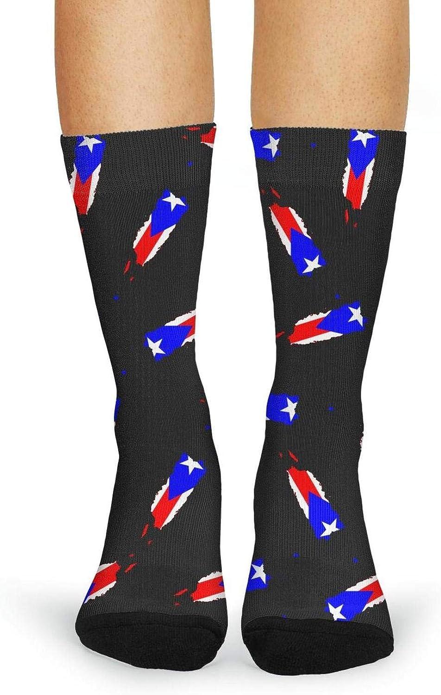 Dress Socks Funny Socks Crazy Socks Maryland Flag Casual Womens Crew Socks