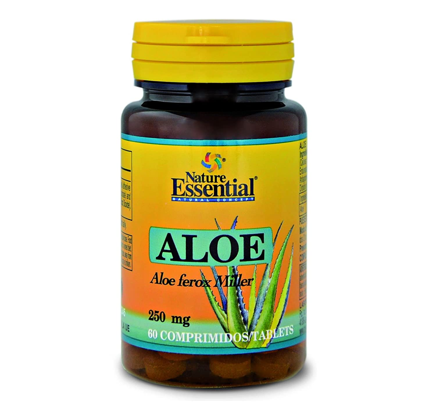 Nature Essential Aloe 250mg - 60 Comprimidos: Amazon.es: Salud y cuidado personal