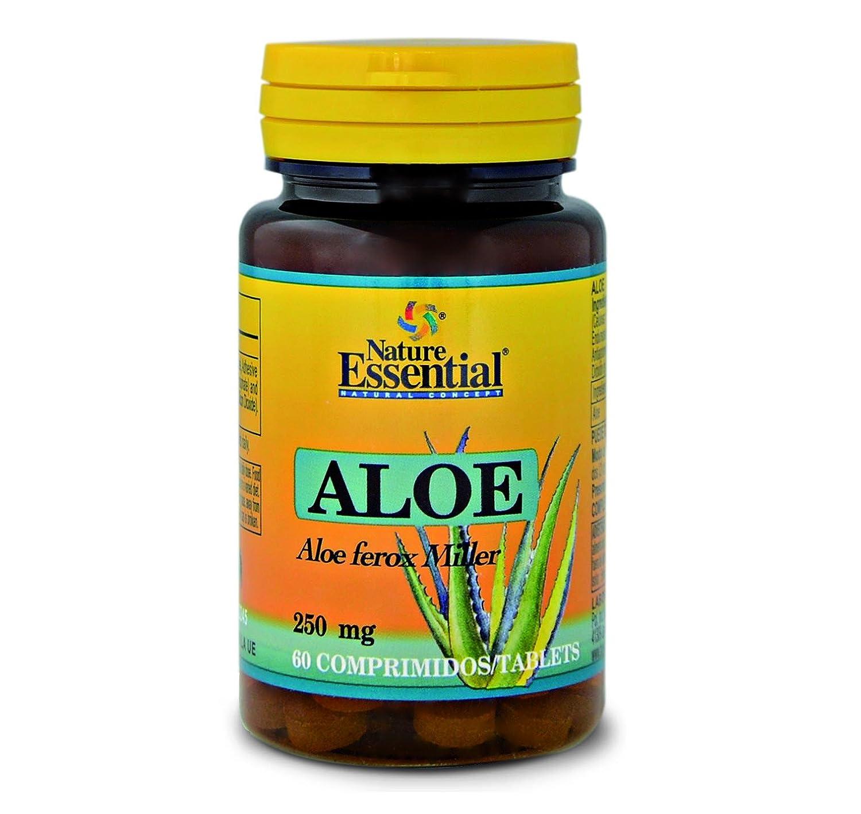 Nature Essential Aloe 250mg - 60 Comprimidos: Amazon.es: Salud y cuidado personal