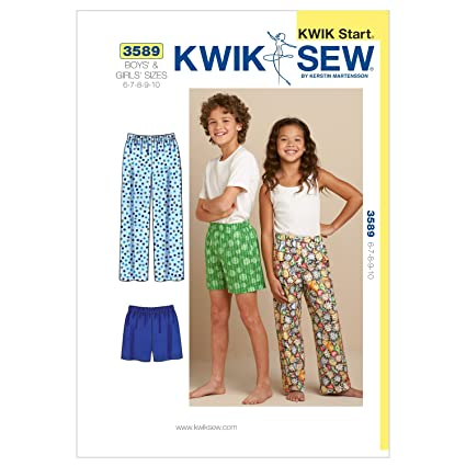 Amazon Kwik Sew K3589osz Sleep Pants And Shorts Sewing Pattern