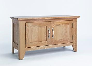 Tamaño pequeño armario de madera de roble, 2 puertas armario de ...