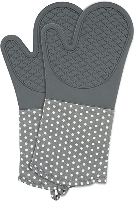 Wenko 2102167100 – Guantes de Silicona Negro – 1 par, algodón, algodón, Gris, 37,5 x 18,5 x 2 cm: Amazon.es: Hogar