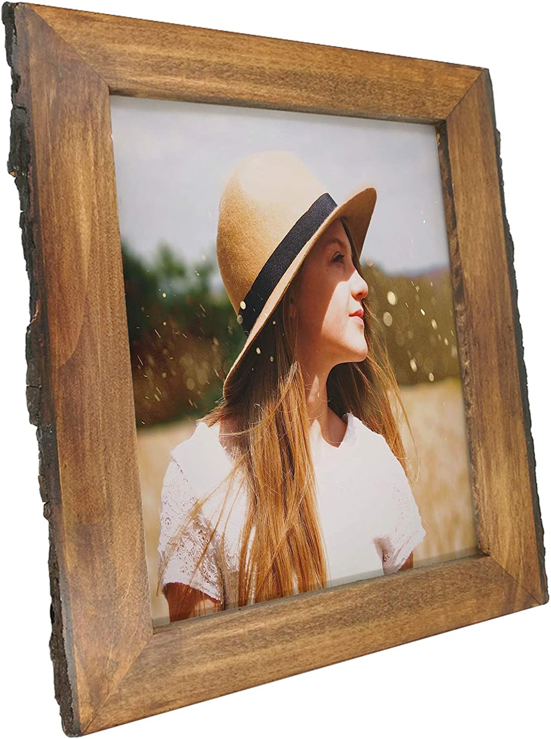 Handcrafted Frames Handmade from Nature Maine Made 8x10 Picture Frames Birch Bark Picture Frame for 8x10 Photo/'s,Birch Bark Frame