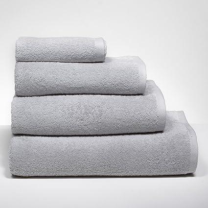 Sancarlos - Toalla New Basic Gris - 100% algodón - Densidad 500 g. -