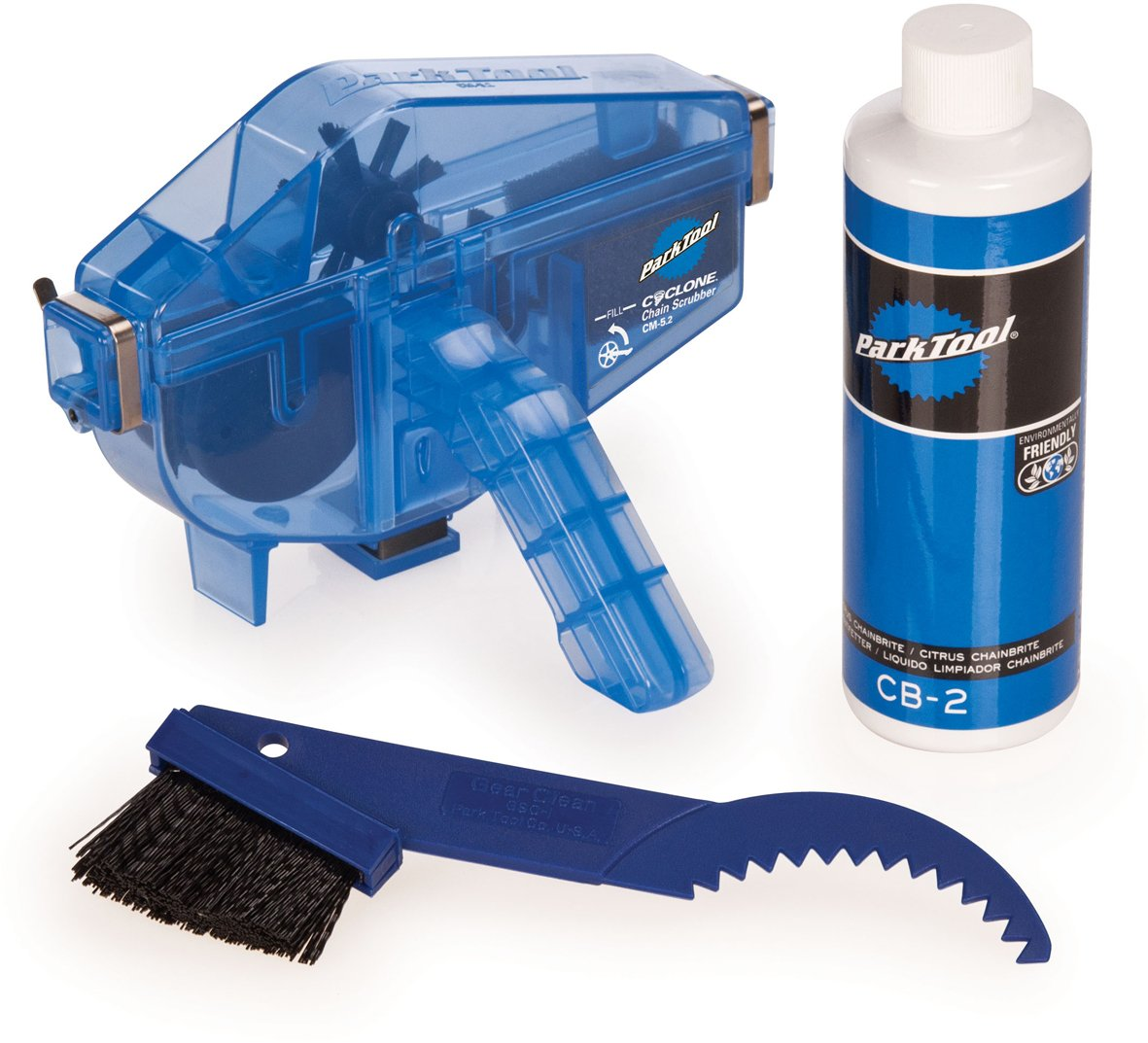 Park Tool CG-2.3 Chain Gang Chain Cleaning System Blue, One Size by Park Tool