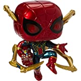 Funko Pop! Marvel: Avengers Endgame - Iron Spider with Nano Gauntlet, Multicolor (45138),3.75 inches