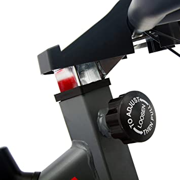 FIT-FORCE Bici estatica GTX con Volante de inercia de 16kg: Amazon ...