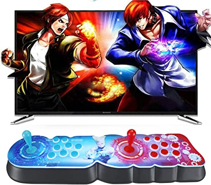 Atemou 3D Pandora Box WiFi Version to Add More Gamges 3D+2D Arcade Games  Console, 4300 Games in 1 1280x720P HDMI Classic Retro Game Machine for PC  and ...