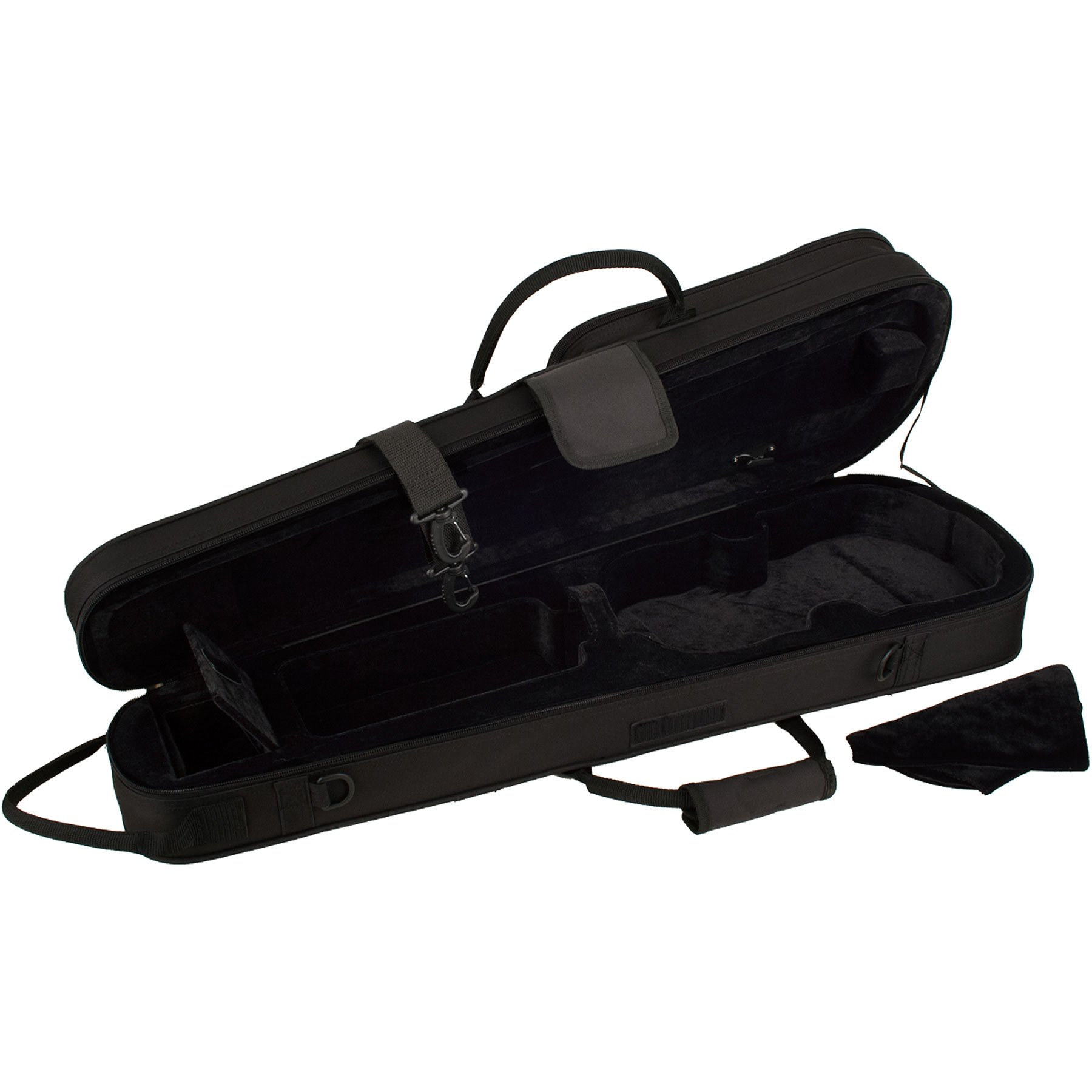 Protec MX044 4/4 Violin Shaped MAX Case, Black by ProTec (Image #3)