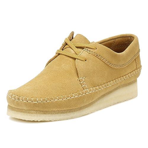   CLARKS Originals Womens Oak Weaver Suede Shoes