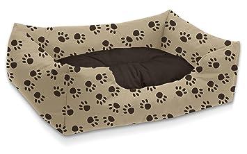 BedDog colchón para Perro Mimi S hasta XXXL, 26 Colores, Cama para Perro, sofá para Perro, Cesta para Perro, L Beige/marrón: Amazon.es: Productos para ...
