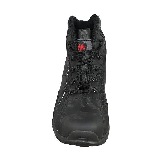 Jallatte Miss Src - Chaussures De Sécurité Bauschuhe Haute B-ware Noir, Couleur Noir, Taille 39