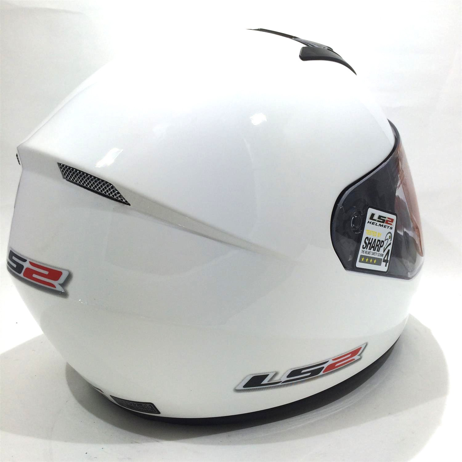 Amazon.es: Casco de la motocicleta LS2 FF351 Mono casco integral (L, Blanco)