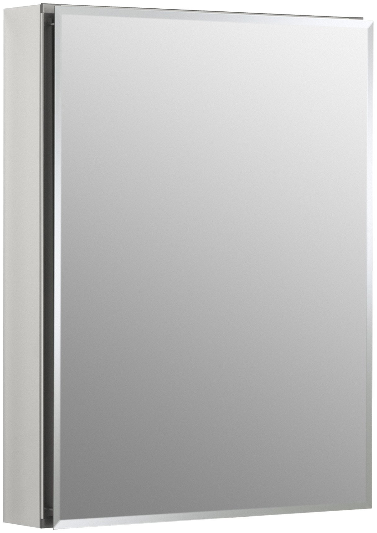 KOHLER K-CB-CLC2026FS Frameless 20 inch x 26 inch Aluminum Bathroom Medicine Cabinet; ; Recess or Surface Mount by Kohler