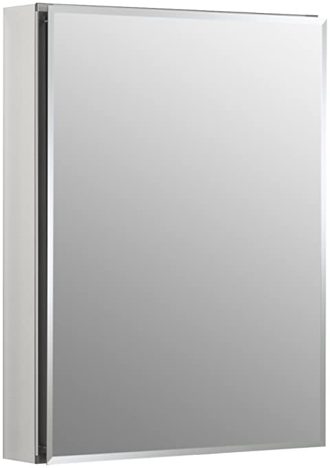 Admirable Kohler K Cb Clc2026Fs Frameless 20 Inch X 26 Inch Aluminum Bathroom Medicine Cabinet Recess Or Surface Mount Download Free Architecture Designs Sospemadebymaigaardcom