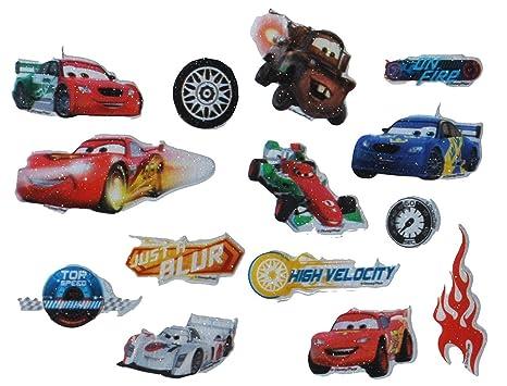 Unbekannt 14 Tlg Set 3 D Sticker Aufkleber Disney Auto
