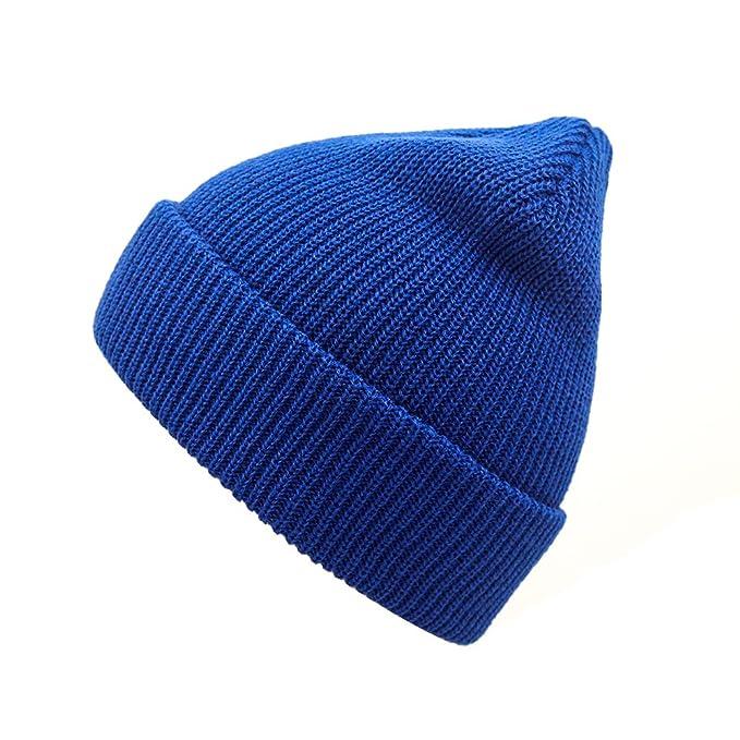 Amazon.com: Beanie hats NINE BULL Unisex Winter Warm Knitting Hats Daily Slouchy Beanie Hat Skull Cap (black): Clothing