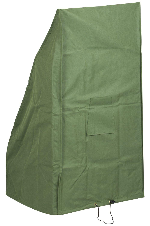 Woodside - Housse de protection - pour tondeuse à gazon - étanche - vert - petite taille