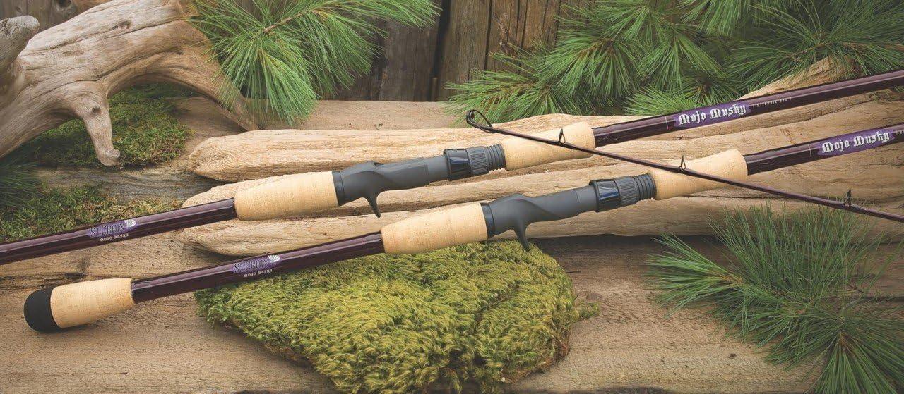 St Croix Mojo Musky Rods