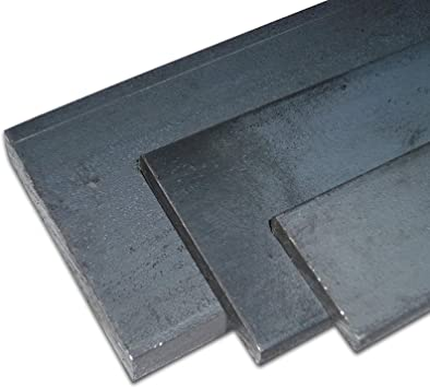 Flach Eisen S235JR St37 Flachstahl 45x5   Länge 500mm bis 3x2000mm Band Stahl