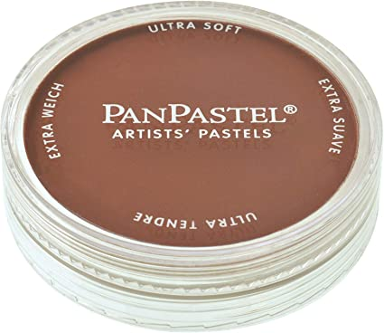 Burnt Sienna PanPastel Ultra Soft Artist Pastel