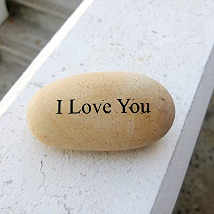 amazon com i love you engraved stone mothers day gift idea