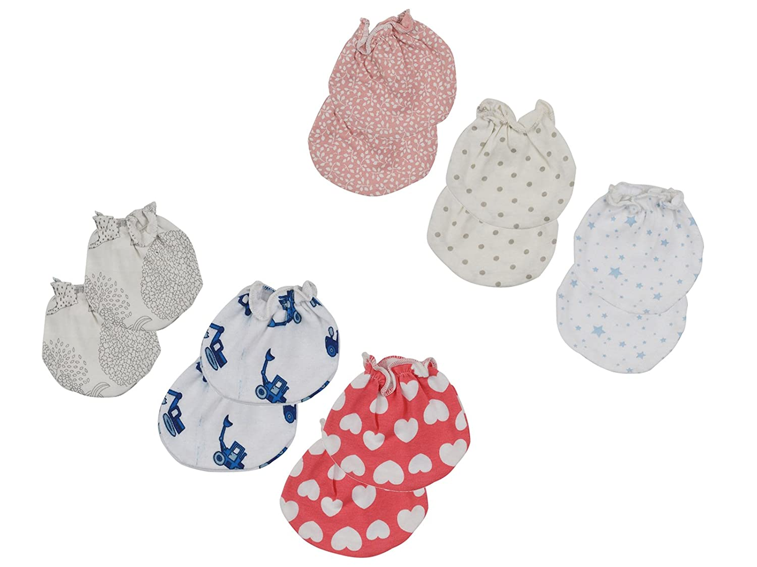 72f3a8bed Dreambaby Baby Cotton Mittens Set (Multi-Coloured