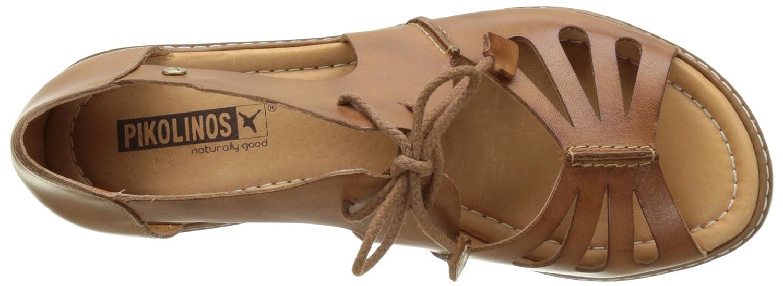 Pikolinos Damen Alcudia W1l Offene Sandalen mit KeilabsatzBraun KeilabsatzBraun mit (Brandy) 79a2f2