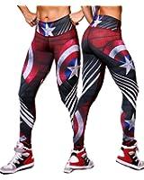 Exit 75 Superhero Many Styles Leggings Yoga Pants Compression Tights