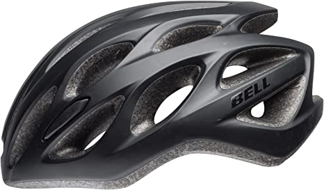 Bell Unisex - Casco de Bicicleta Tracker R, Color Negro Mate ...