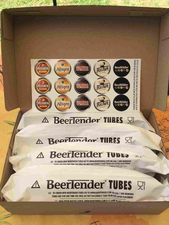 50 tubes beertender