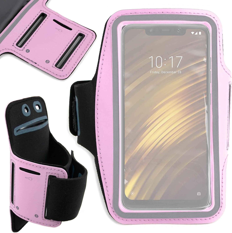 DURAGADGET Brazalete Deportivo Rosa para Smartphone Xiaomi Mi 8 ...