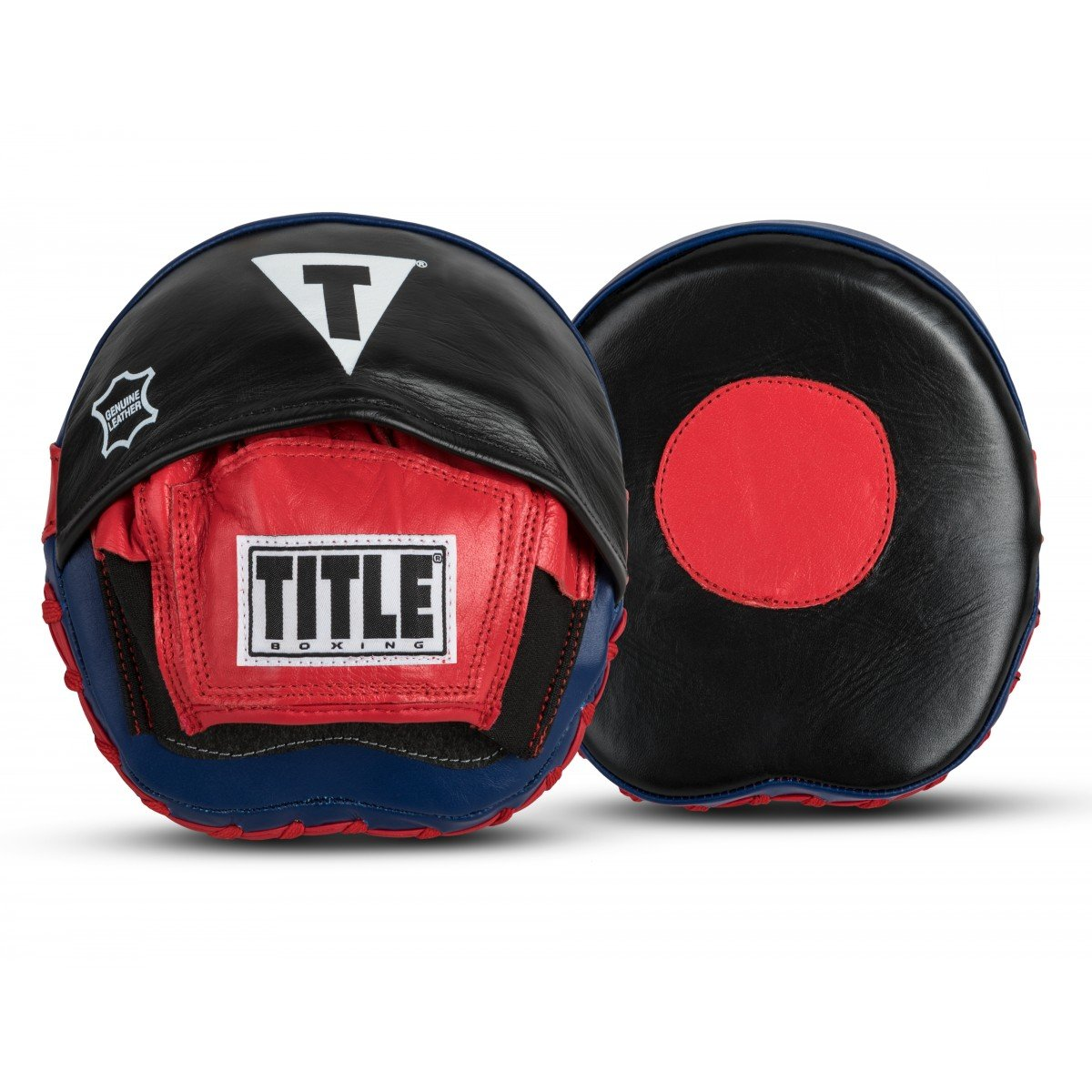 Title Boxing Speed Mitt, Black/Red/Blue