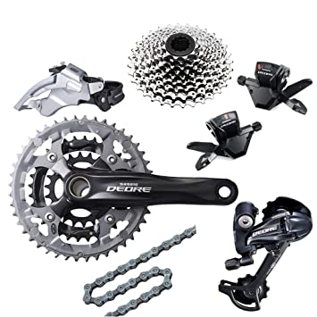 b2fbb30bf00 Shimano Deore M590 Groupset Mountain Bike Racing and Training Parts ...